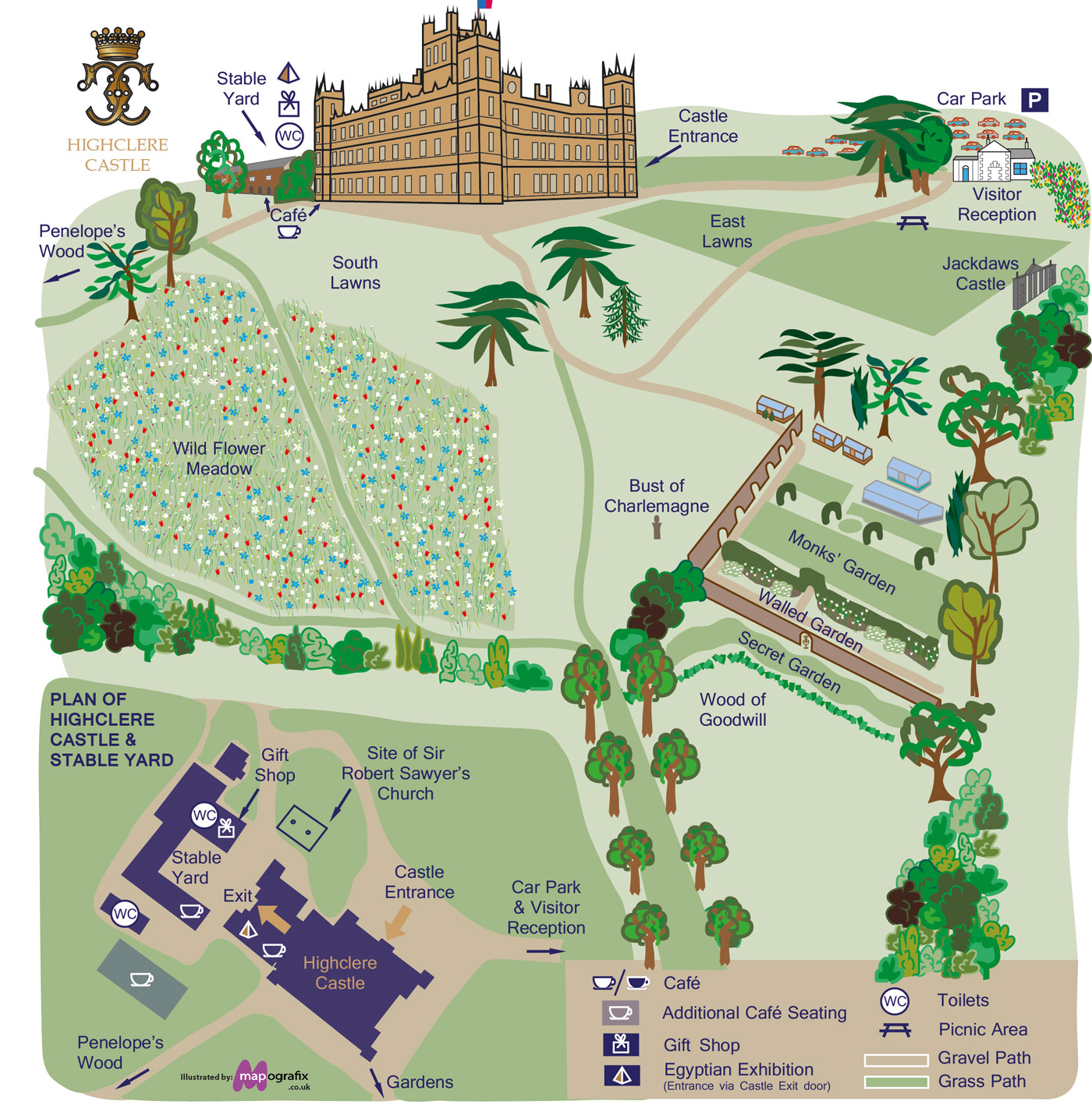 Planning your visit to Highclere Castle, Hampshire, Berkshire