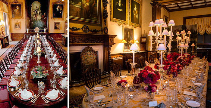 private dining | highclere castle