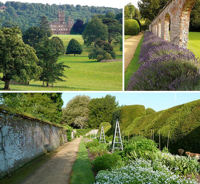 Highclere Castle Gardens Carnarvon Family Home