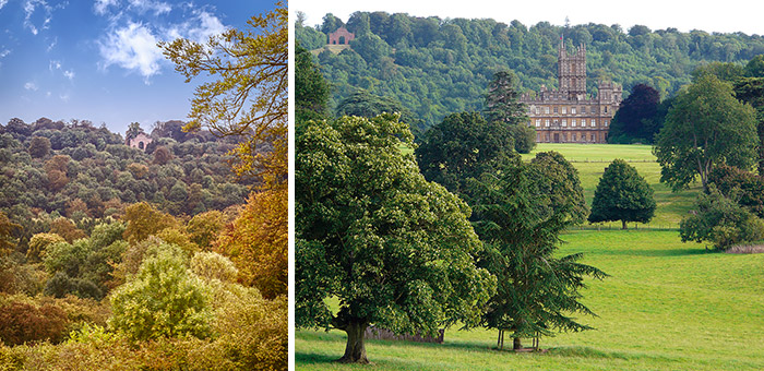 Highclere Castle Lancelot Capability Brown The Park And The