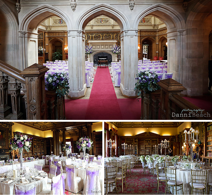 Wedding Hall Ceremony: Weddings At Highclere Castle, Marquees, Civil Ceremonies